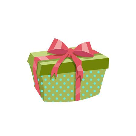 Green gift box icon.