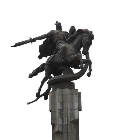 Manas Statue Epic Kyrgyz Hero photo