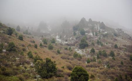 Tian Shan cha�ne de montagnes au Kirghizistan Banque d'images