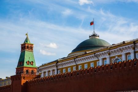 the kremlin: Moscow Kremlin spring day. Russia