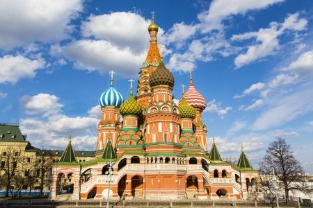 Cath?drale St Basils sur la place rouge ? Moscou Banque d'images