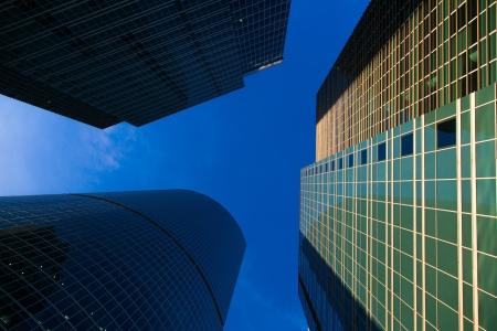 Centre d'affaires international de Moscou-City, en Russie