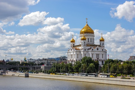 Cathedral of Christ the Saviour. Russia,Moscow Editorial