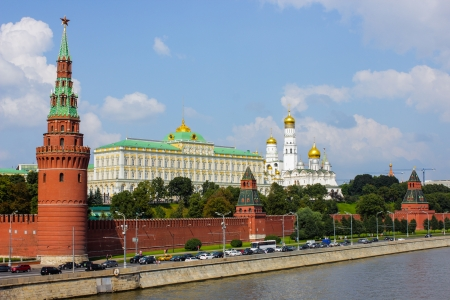 Moscow kremlin embankment