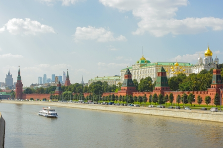 Moscow kremlin embankment