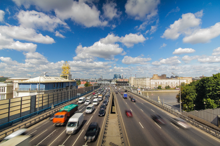 Moscow highway third ring