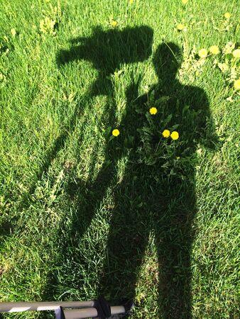Shadow cameraman