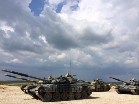 Tanks biathlon