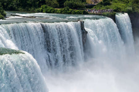 American Falls and Bridal Veil Falls photo