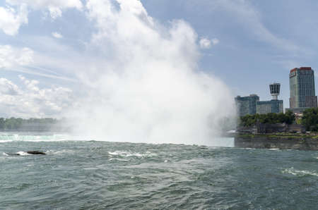 horseshoe falls: Horseshoe Falls Stock Photo
