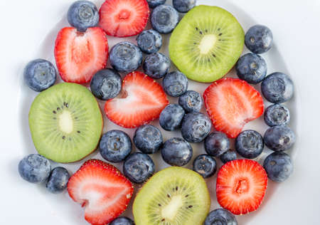 Mixed fruits and berries Stock Photo - 20427618