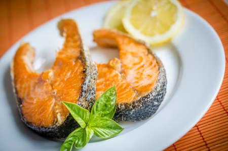 stir up: grilled salmon