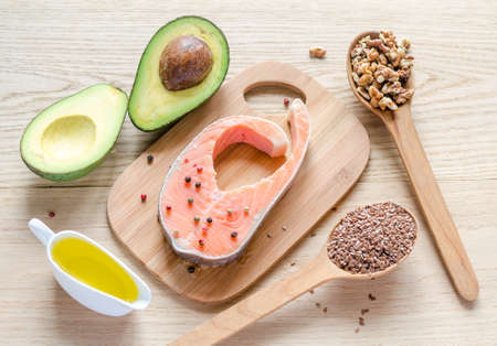 food with unsaturated fats photo