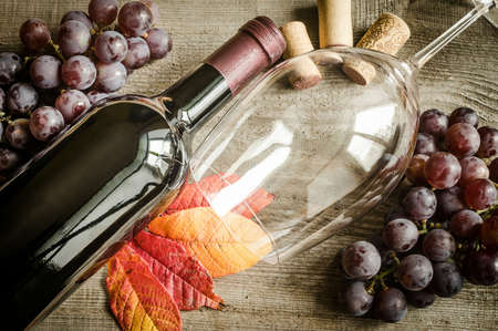 corked: red wine