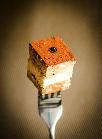 Three layer chocolate cake Stock Photo - 24827292