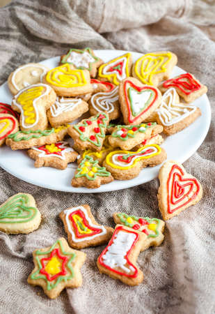 Glasierte Cookies photo