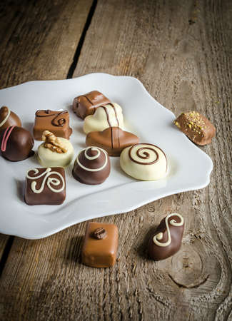 Chocolate candies photo