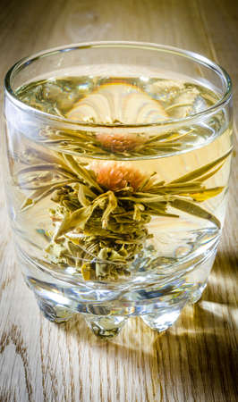 caffeine free: Lotus flower tea