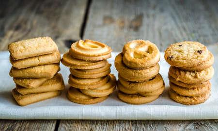 galleta de jengibre: Galletas de mantequilla
