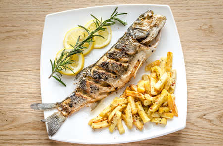 roasted fish photo