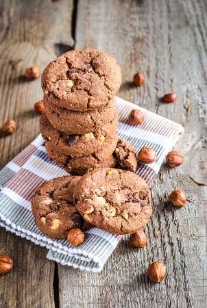 chocolate cookies photo