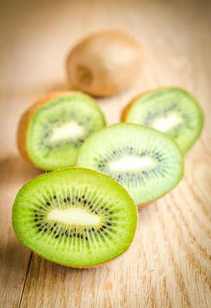 kiwi fruta: kiwis Foto de archivo