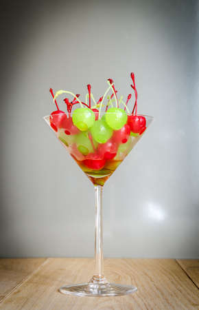 maraschino: Colorful Maraschino cherries