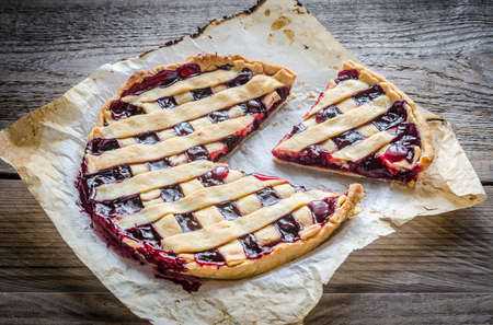 Cherry pie photo