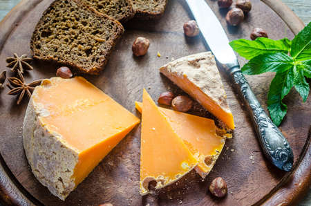 Mimolette cheese photo