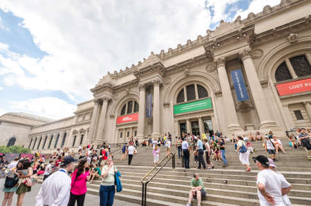 NEW YORK CITY - JULY 17: Metropolitan Museum of Art in New York City on July 17, 2014. The Metropolitan Museum of Art is the largest art museum in the United States.