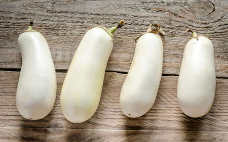 white eggplants photo