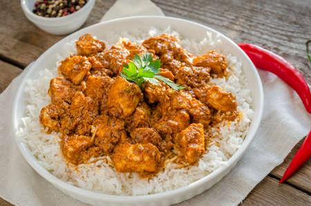 Indian butter chicken photo