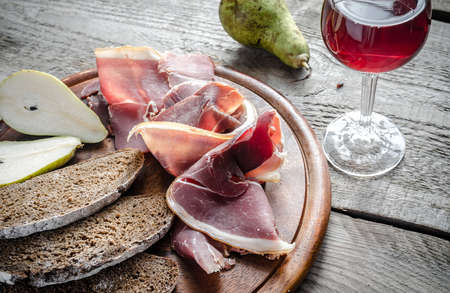 bread and wine: jam�n serrano