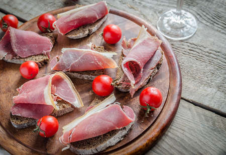 italian ham photo