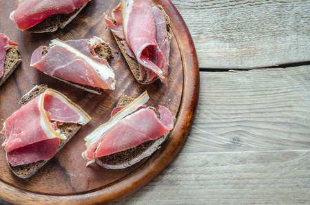 prosciutto photo