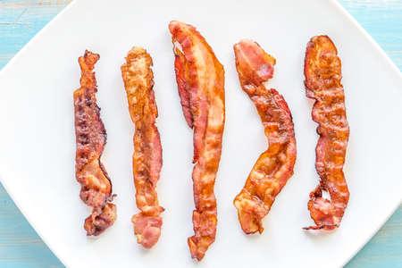 bacon: bacon Stock Photo