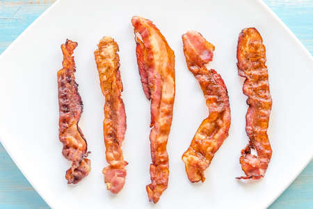 bacon Foto de archivo