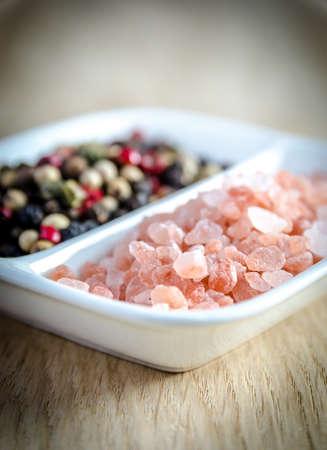 himalayan salt and peppers photo