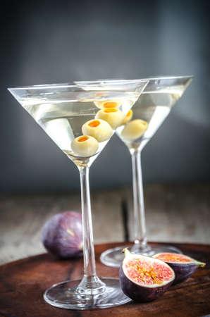 Deux cocktails martini Banque d'images - 32509055