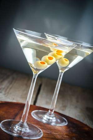 Deux cocktails martini Banque d'images - 32509061