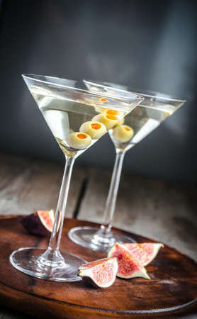 Martini cocktails photo