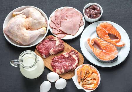 단백질 다이어트에 대한 성분 스톡 콘텐츠 - 36062914