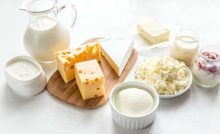 leche y derivados: productos lácteos