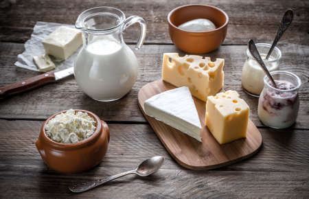 dairy products Stock Photo - 36442898
