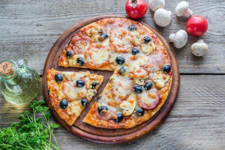 pizza Stok Fotoğraf