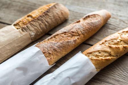 baguette: baguette Stock Photo