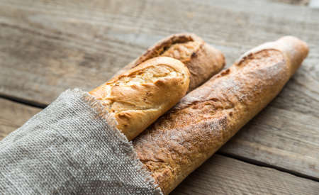 french: baguettes Stock Photo