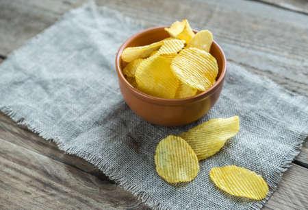 potato chips: chips