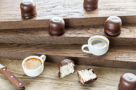 cafe bombon: Malvaviscos de chocolate