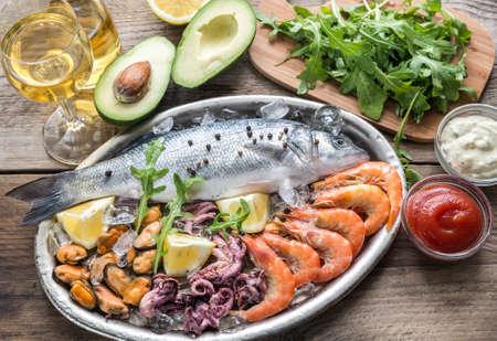 seafood: Seafood